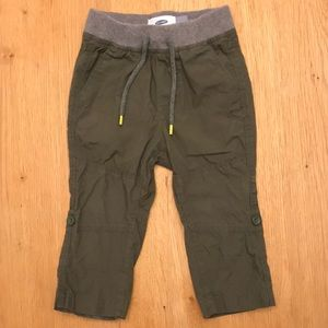 Toddler Boy Green Pants